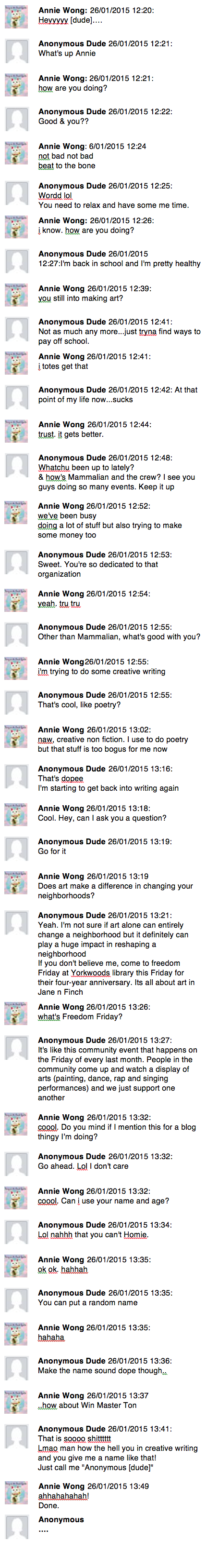 Anonymous Dude