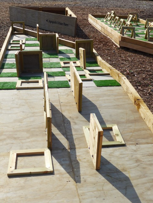 Pallet Mini Golf, 100 Peterborough Street. Photo: Gap Filler.