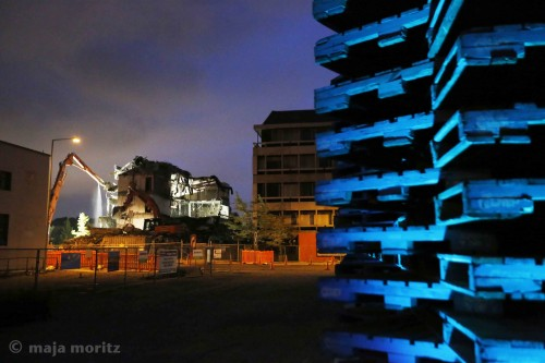 Pallet Pavilion. Photo: Maja Moritz, 2012.