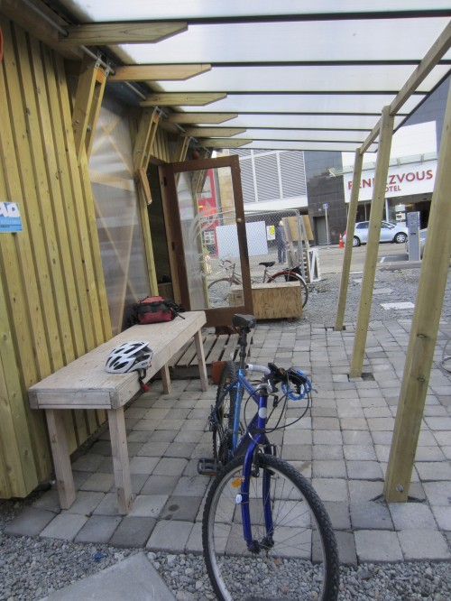 RAD Bikes – a community bike shed. Photo: Mira Hansen 2013.