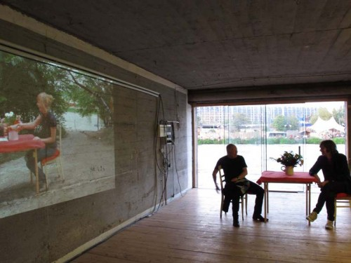 Installation View, Boathouse Spreefeled, Berlin © Terry Kurgan